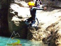 Un salto valiente