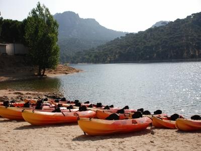 Kayak Rental in San Juan with Paella