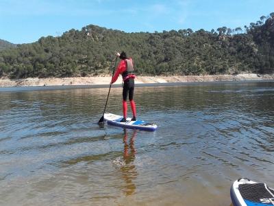 Alquiler de Paddle Surf en Embalse San Juan