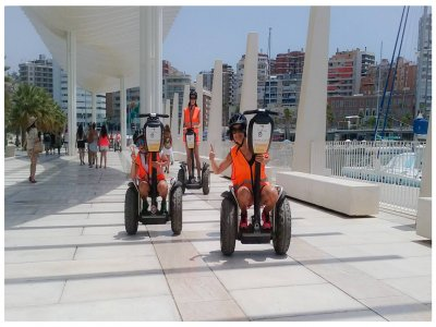 Segway route in Málaga Park and Harbor