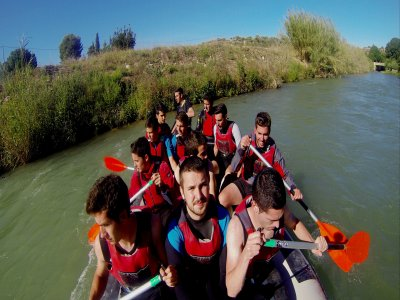 Rafting Almadenes Canyon e visita alla grotta dei monigoti