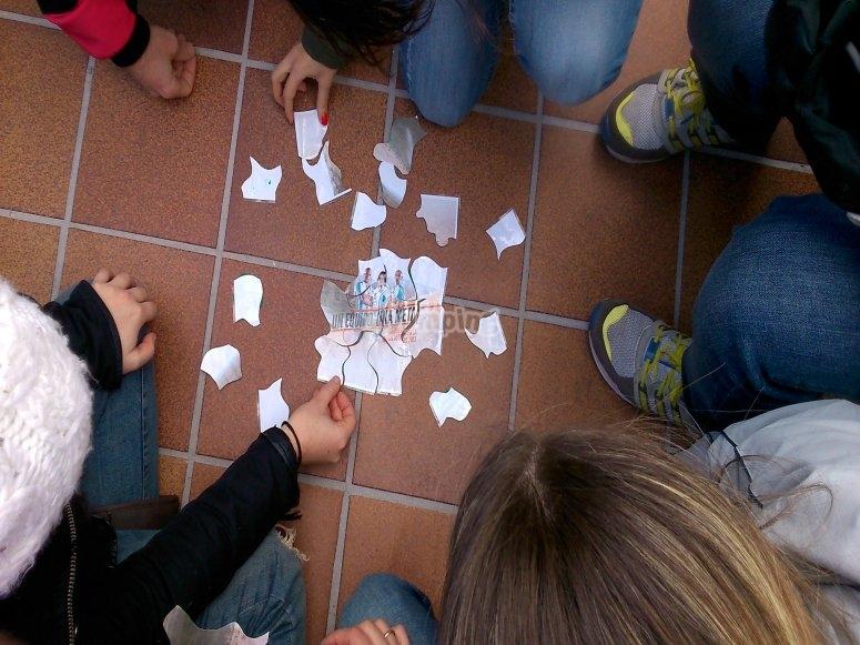 Building the puzzle pieces