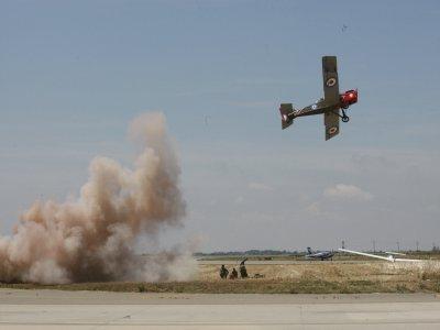 莱里达的第一次世界大战飞行