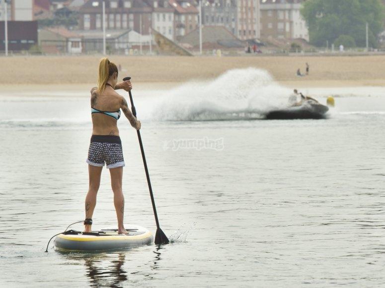 Paddle surf Playa de Poniente