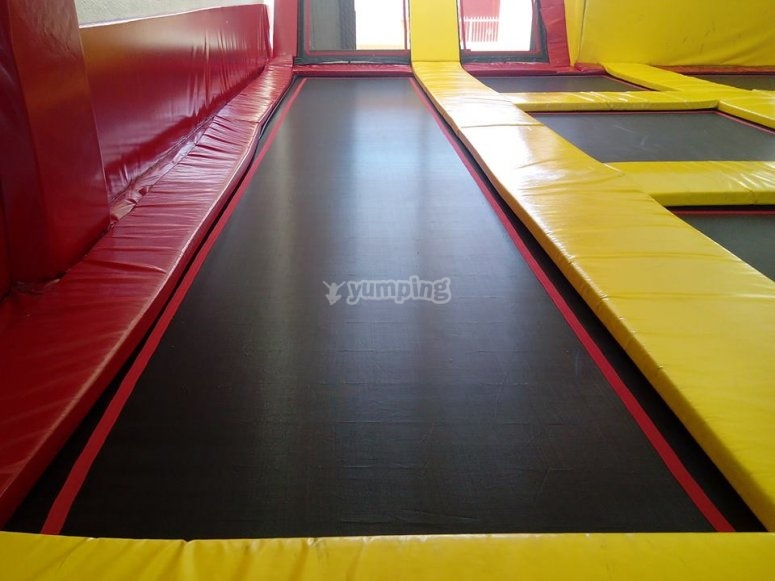 Jump in the trampolines in Torrevieja