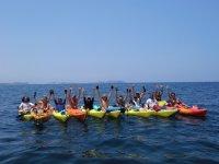 En linea en el Mediterraneo