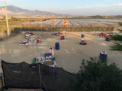 Despedida con karts y paintball en Murcia