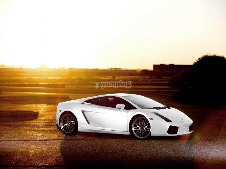 Lamborghini Gallardo Montmeló alla guida