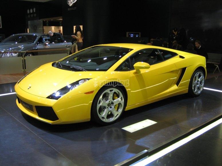 在蒙梅洛(Montmeló)试驾Lamborghini Gallardo
