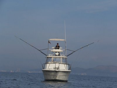 Pesca en barco por las Baleares