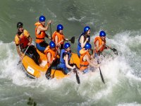 Rafting in the camp