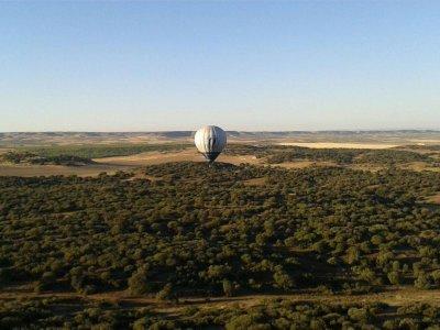 Addio con volo in mongolfiera a Cordova