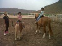 Primera ruta a caballo