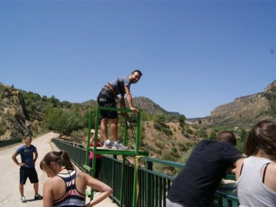 Bungee Jumping, Cabriel, 1rst November