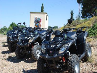 Quad ride, Cascante and Laguna de Lor, 1h