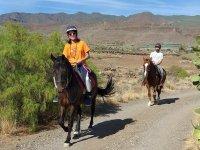Excursión ecuestre en Aguimes