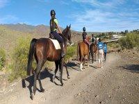 Ruta a caballo por Gran Canaria