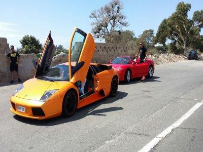 Pilota un Ferrari y Lamborghini en Mogán 25min