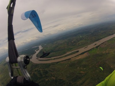 Volo acrobatico in parapendio in tandem a Murcia