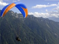 Tandem paragliding: panoramic flight, Murcia