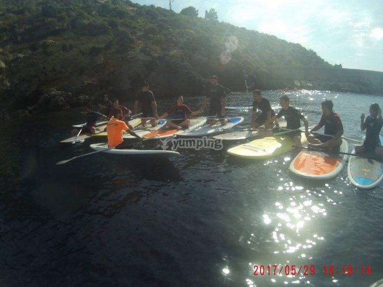 Sesión de surf