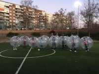The little ones can also Play Soccer Bubble