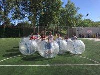 Soccer match Bubble