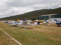 Visitando el aeródromo de Mazarico