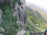 Vía Ferrata Comares 2 recorridos inicial a medio