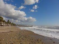 La playa de Cubelles