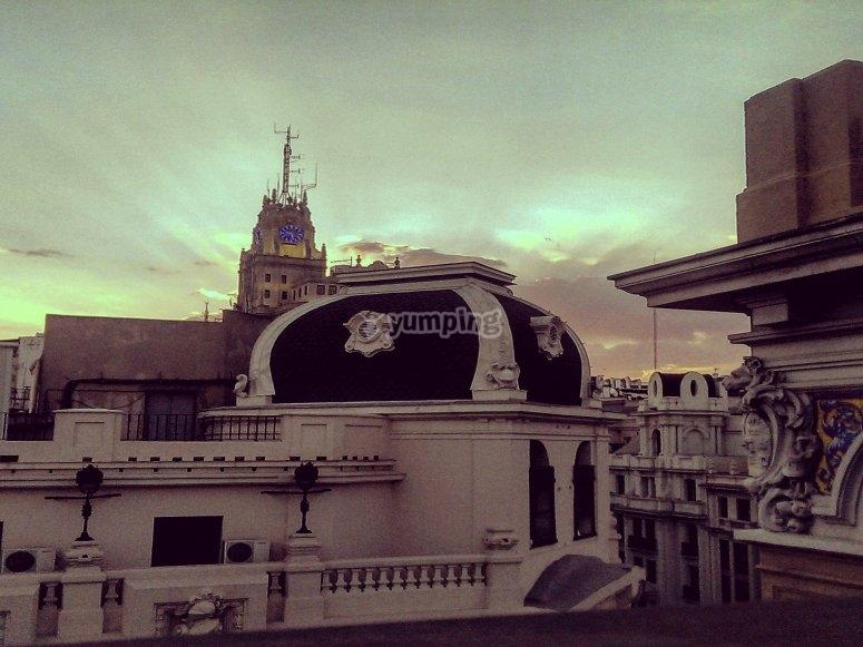 Los techos de madrid antiguo