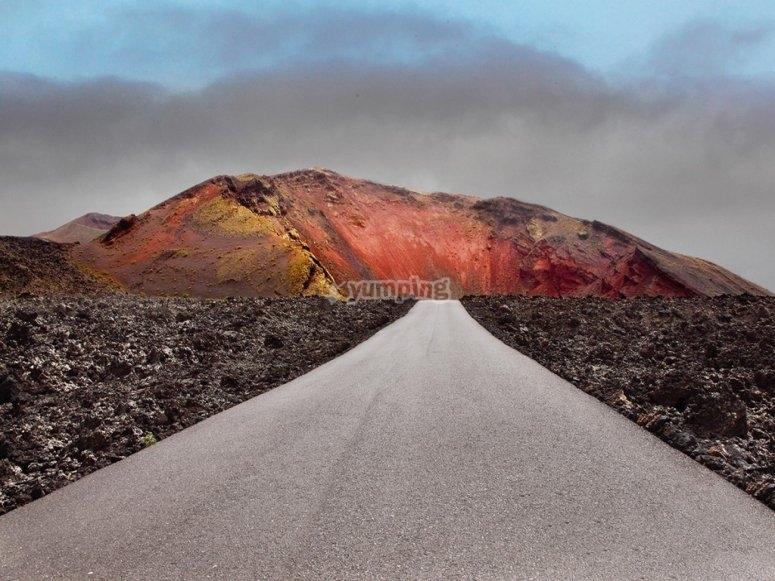 Carretera de Timanfaya