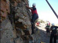 Primeros pasos en la escalada