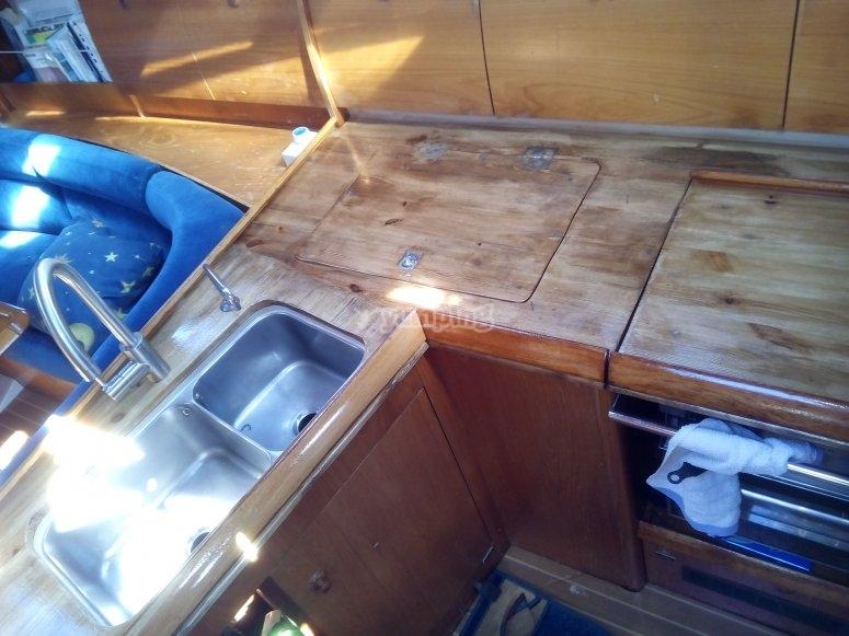 La cocina del velero