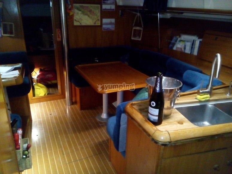 El salon del velero