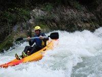 Percorso in kayak sul fiume Genil