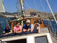Pasear en barco en Mallorca