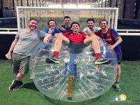 的泡沫足球比赛进球数未达到巴塞罗那