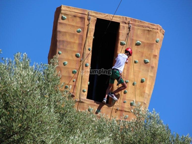 射箭攀岩rocodromo