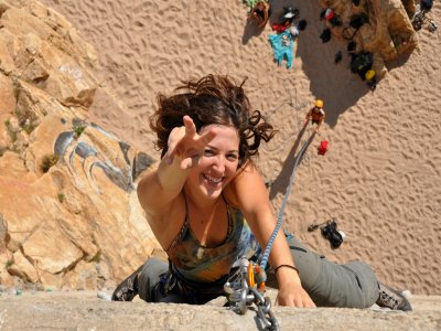 Initiation climbing course in Sabadell