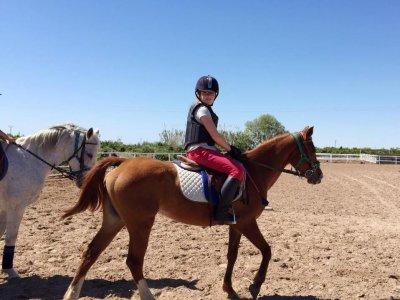 Paseo a caballo en grupo por Almazora y Burriana
