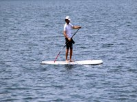 Learning to paddle surfing