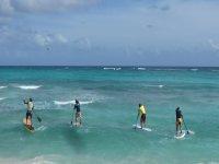 Primer día de paddle surf