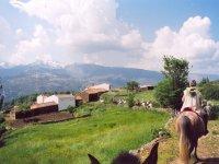 A caballo por pueblos de Avila
