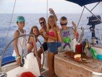 Un paseo en barco por Tenerife