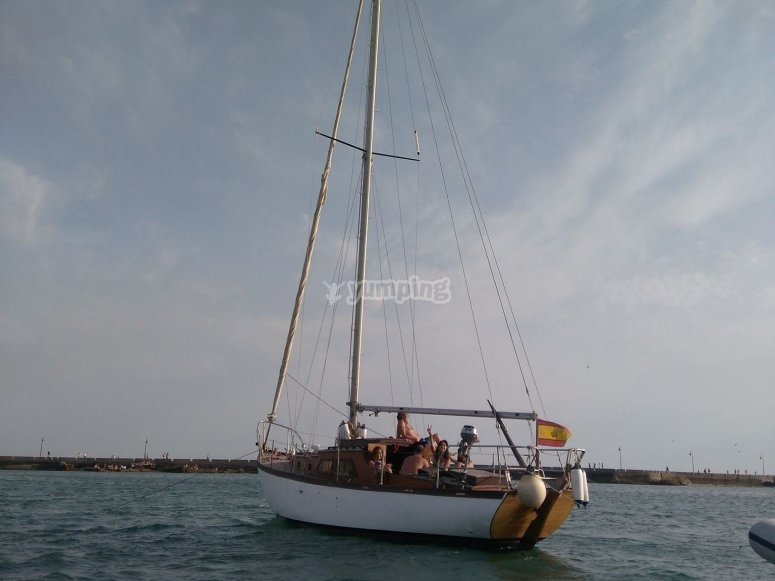 El velero en que viajaras