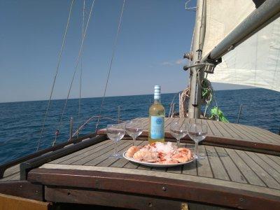 Paseo en velero por la costa de Cádiz 8 horas