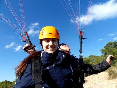 Volo in parapendio in tandem Alhama de Murcia 30 min