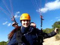 两人座滑翔伞飞行 Alhama de Murcia 30 分钟