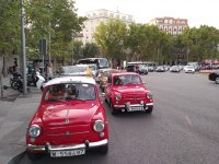 Getting to know Madrid in a Seat 600
